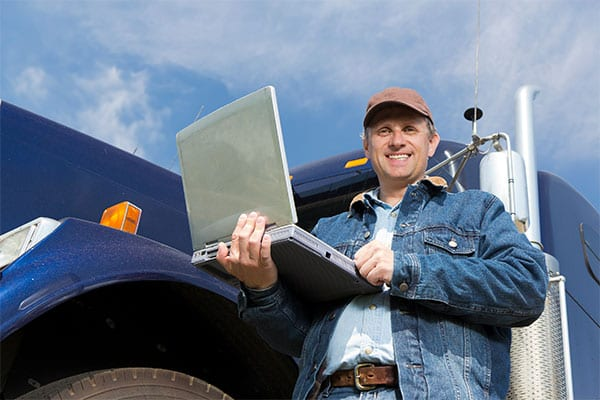 Consider the advantages of using owner-operators when hiring truck drivers.
