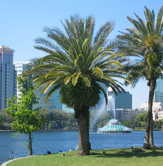 Orlando Florida has the lowest unemployment rates in the state of Florida