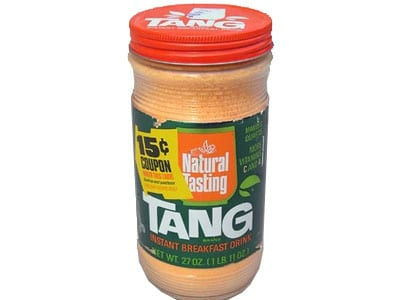 tang drink from the 1970s