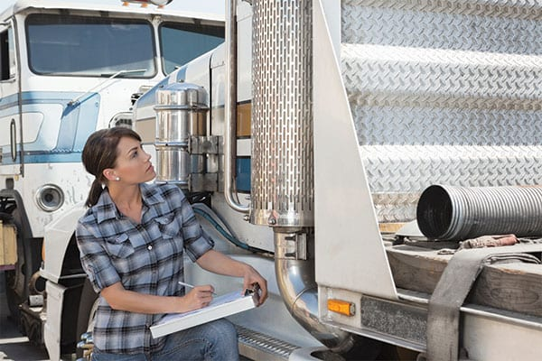 Understanding what is on a trucking inspection.