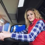 Women truckers in the driver's seat